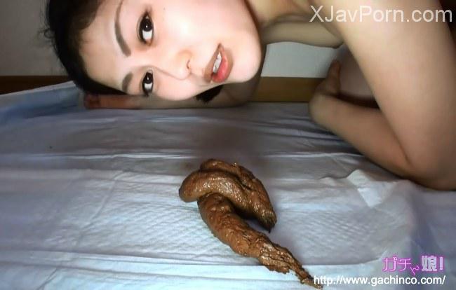 [GCN-03]  Scat 美杏スカトロ素人うんち動画かわいい女の子はたわごとの彼女の大きな束を示している