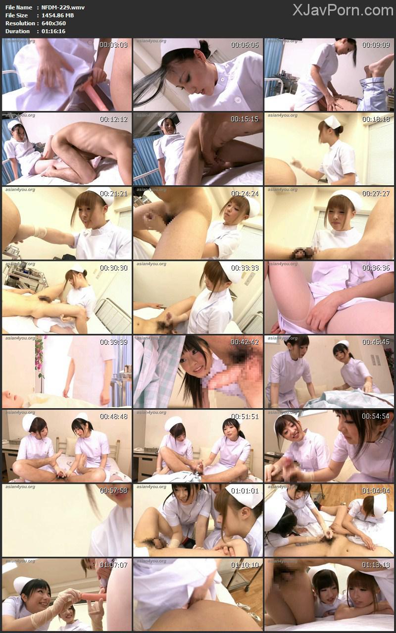 [NFDM-229] 美人ナースの肛門検診 Ren Azumi ペニバン お姉さん その他女王・SM Nurse ナース・女医 75分