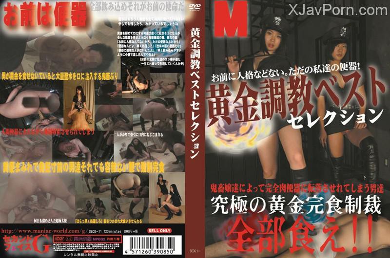 [SECG-11] 黄金調教ベストセレクション Torture Omnibus 放尿 Facesitting 2013/12/15