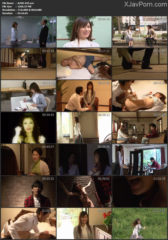 [AZSD-035] 美しい徳子さんの不幸せ 成人映画 Drama Sakurai Hana アタッカーズ その他成人映画