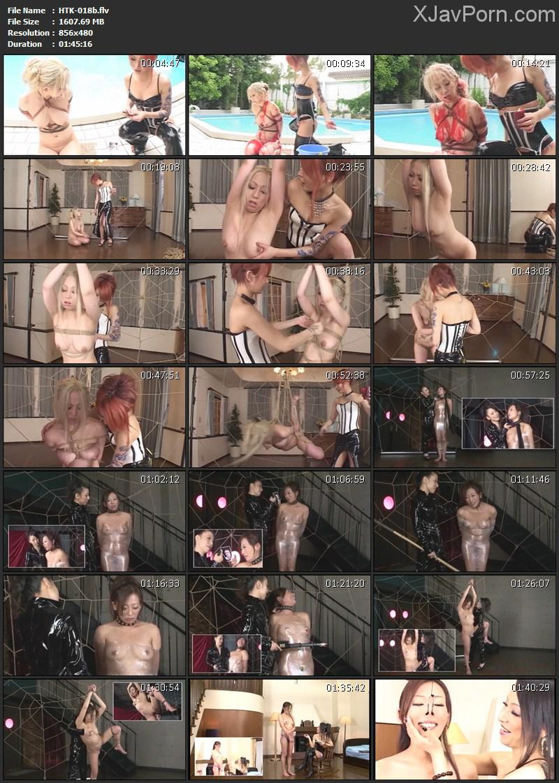 [HTK-018] 女王様とM女 レズビアン美肉凌辱 Vol.2 2015/10/02 Lesbian Rape