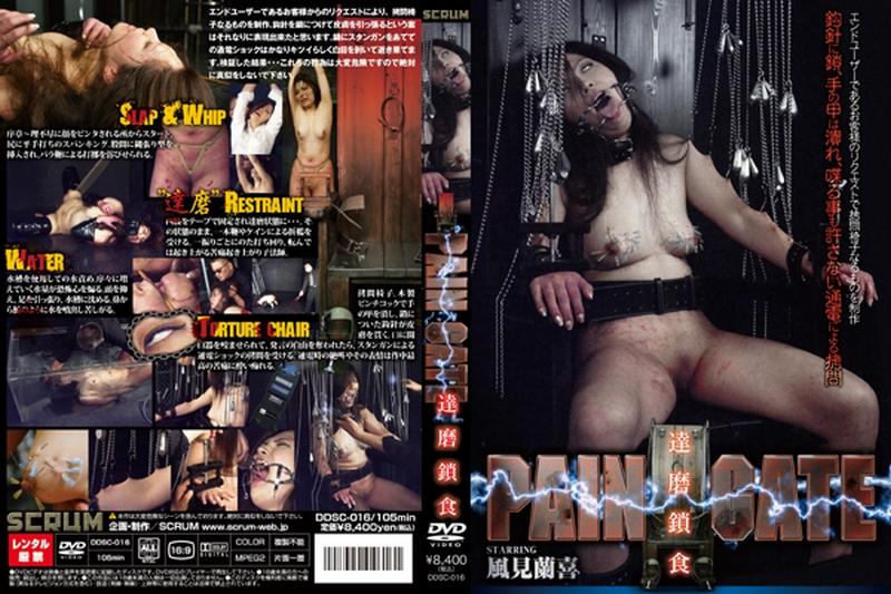 [DDSC-016] PAIN GATE 達磨鎖食 PAIN GATE SM