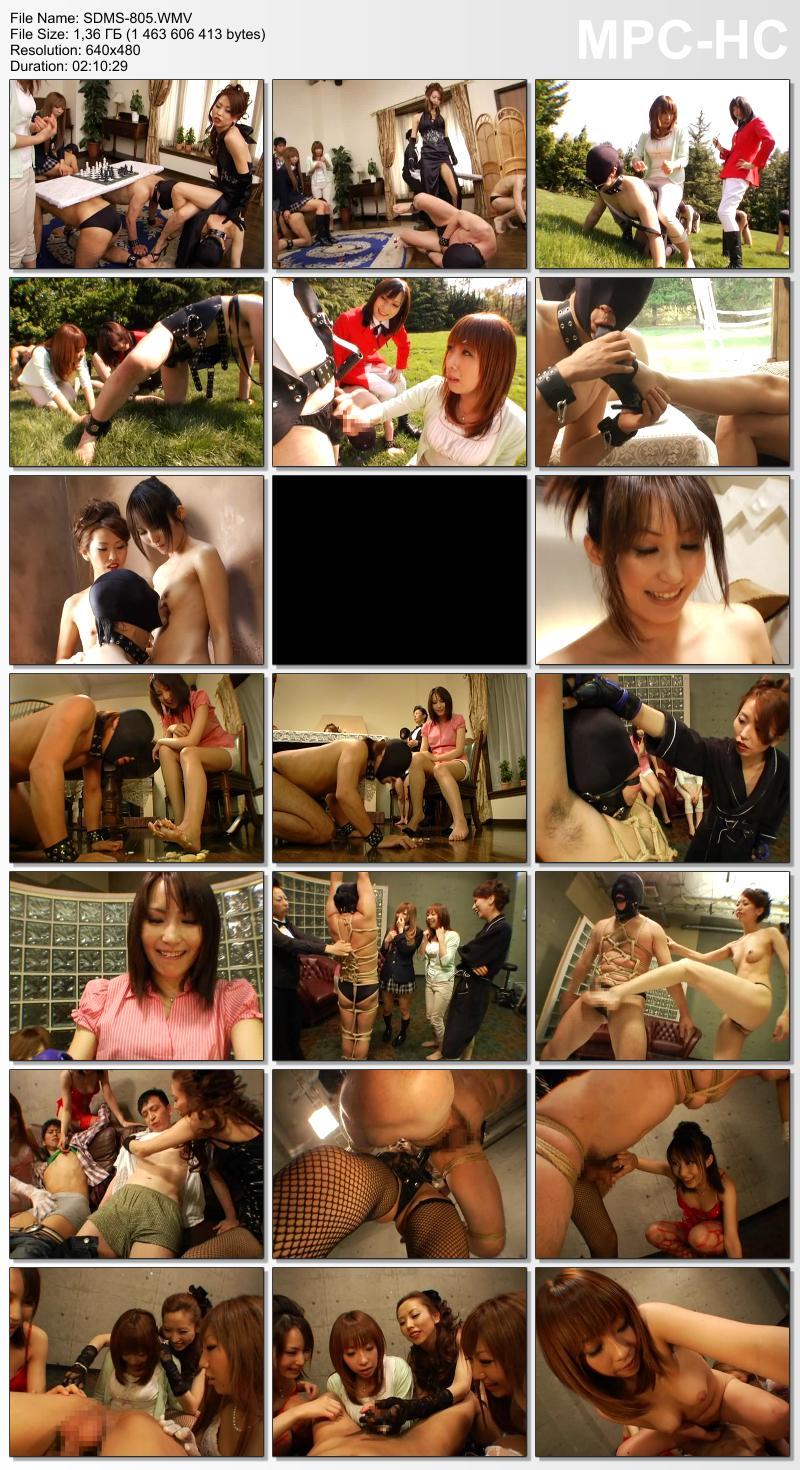 [SDMS-805] 一家の家訓は「女尊男卑」 N県の名門旧家に男を飼う女性上位の女系家族がいた Saki Asaoka 企画 その他女王・SM GORI 女王様・M男 三浦環