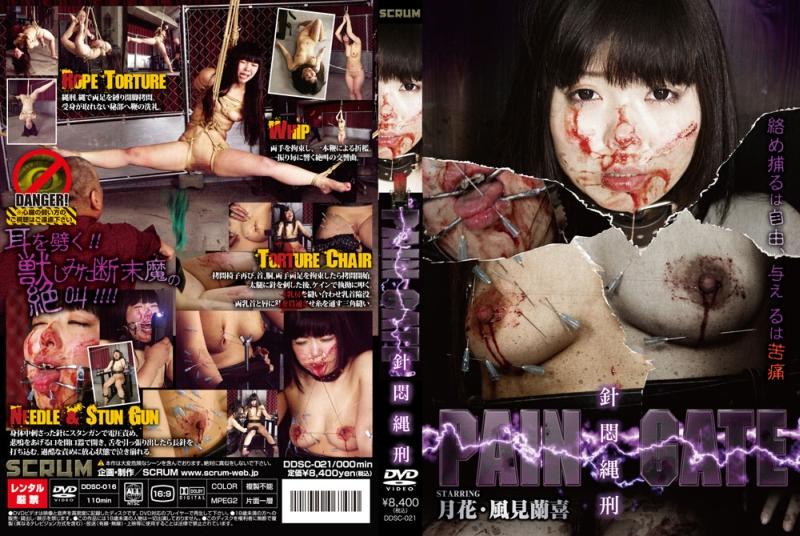 [DDSC-021] PAIN GATE 針悶縄刑 風見蘭喜 PAIN GATE