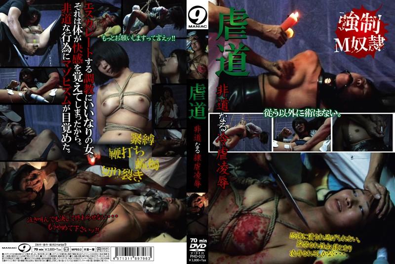 [PHD-022] 虐道 非道なる冷虐凌辱 スパンキング・鞭打ち Maniac (Mercury) Torture SM