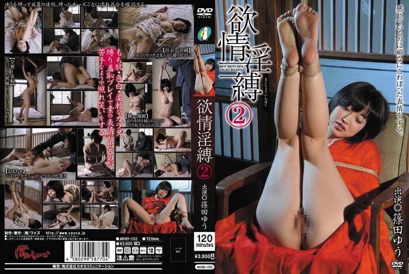 [AKHO-093] 欲情淫縛 2 篠田ゆう SM 2014/04/13