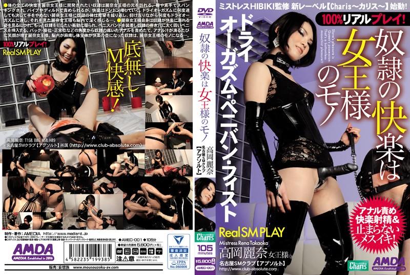 [AMEC-001] 奴隷の快楽は女王様のモノ スパンキング・鞭打ち SM 女王様・M男