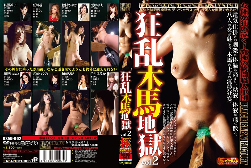 [DXMJ-002] 狂乱木馬地獄 vol.2 BLACK BABY 拷問・ピアッシング