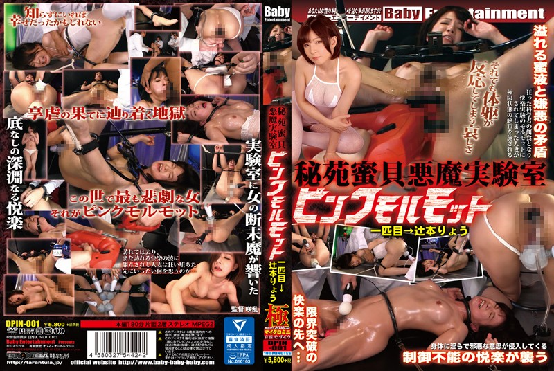 [DPIN-001] 秘苑蜜貝悪魔実験室 ピンクモルモット 一匹目→辻本りょう Married Woman Tied 巨乳 Drill 拘束