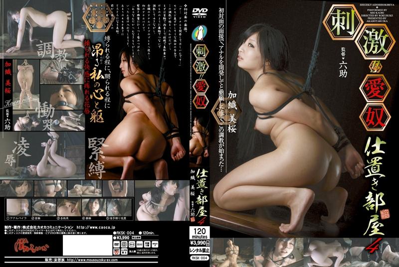 [RKSK-004] 刺激!! 愛奴仕置き部屋 4 Rape 凌辱 Torture 監禁・拘束