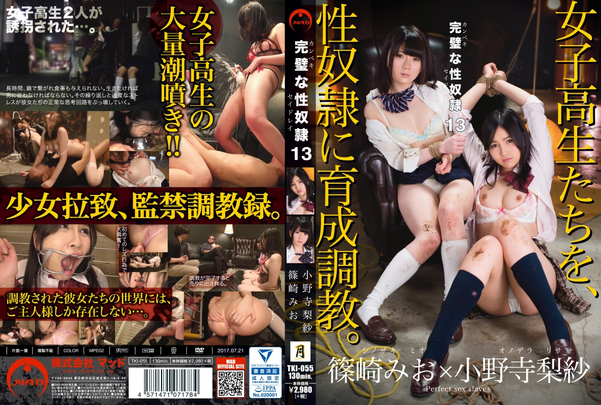 [TKI-055] 完璧な性奴隷 13 凌辱 監禁・拘束 企画 Rape