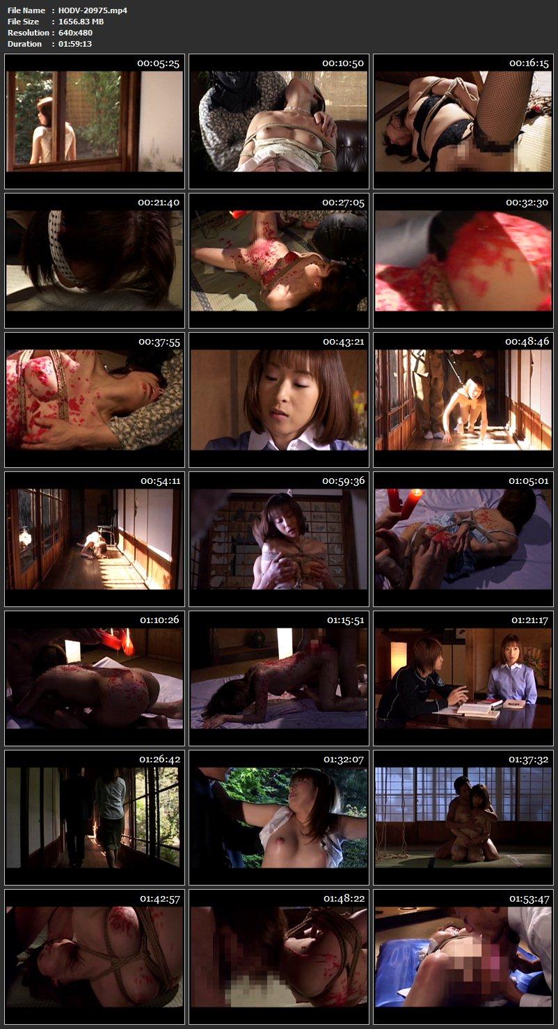 [HODV-20975] 新・奇譚クラブ-蝋- SM Fuyutsuki Nami, Kitahara Rina, Kuroki Nami