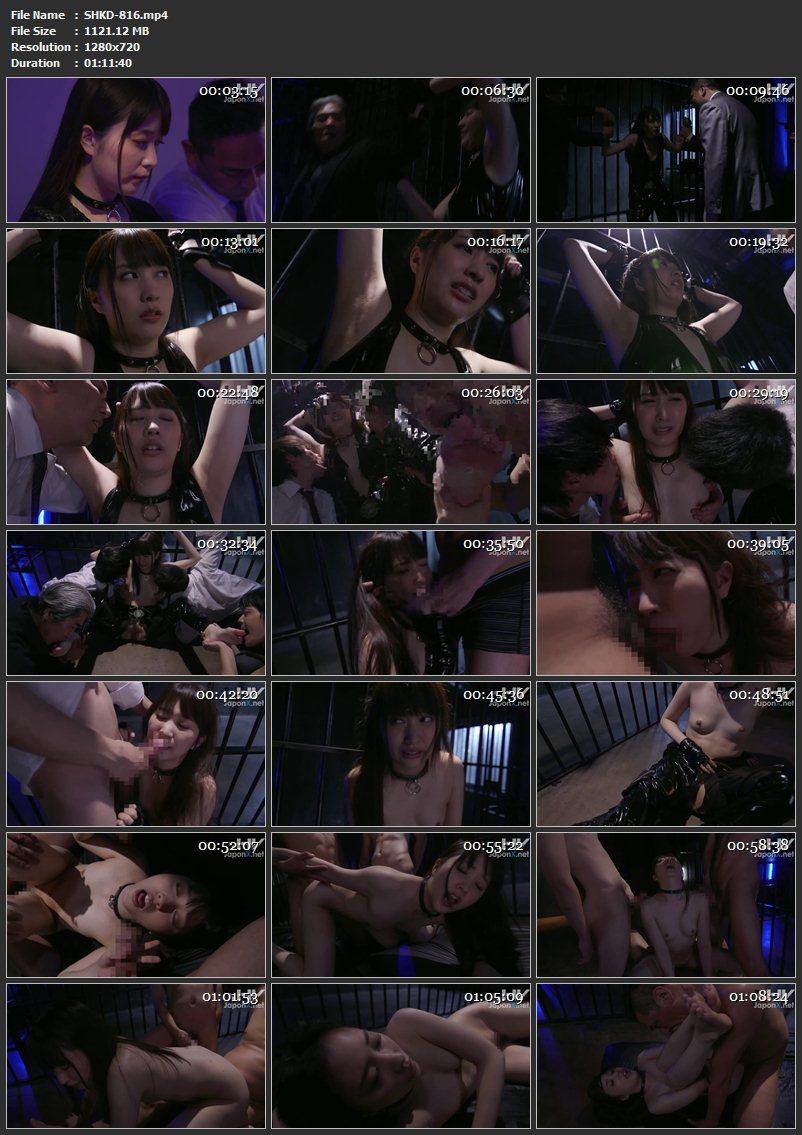 [SHKD-816] 裏切られた捜査官、快楽に堕つ 辱め Sakuragi Yukine Humiliation