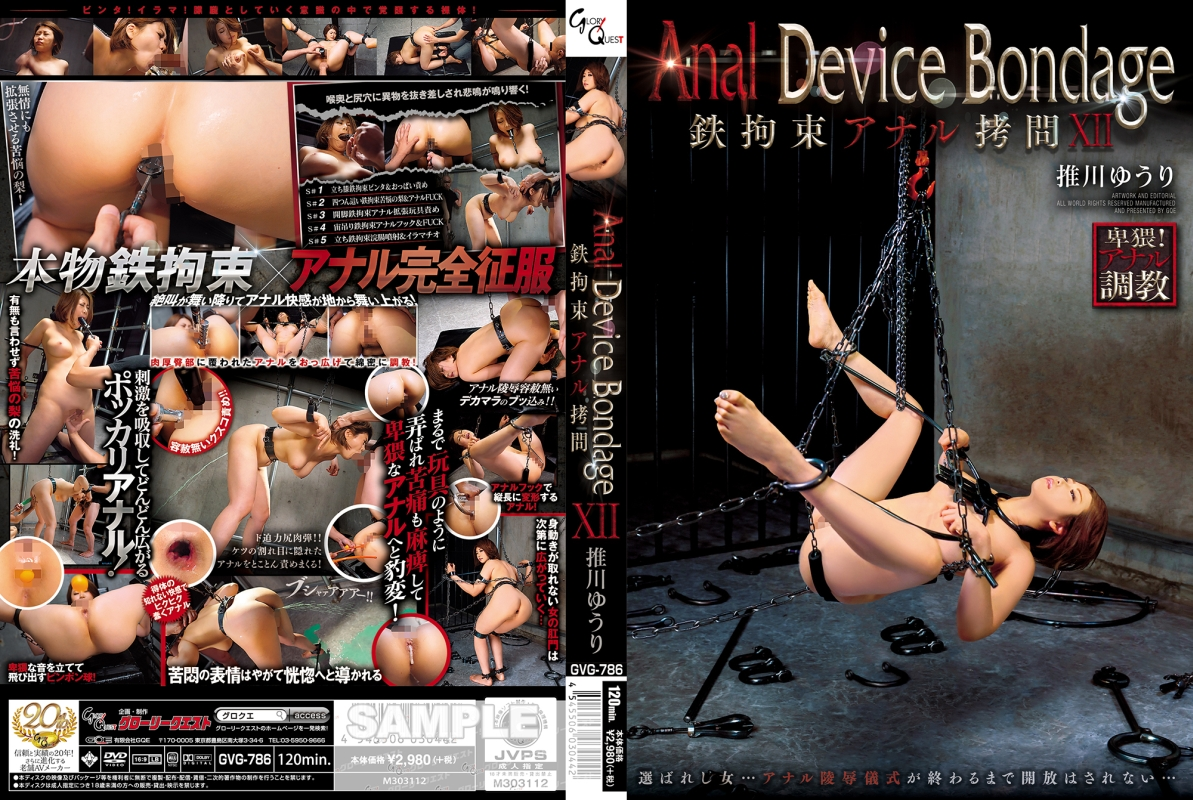 [GVG-786] Anal Device Bondage XII 鉄拘束アナル拷問 スカトロ グローリークエスト(GQE)