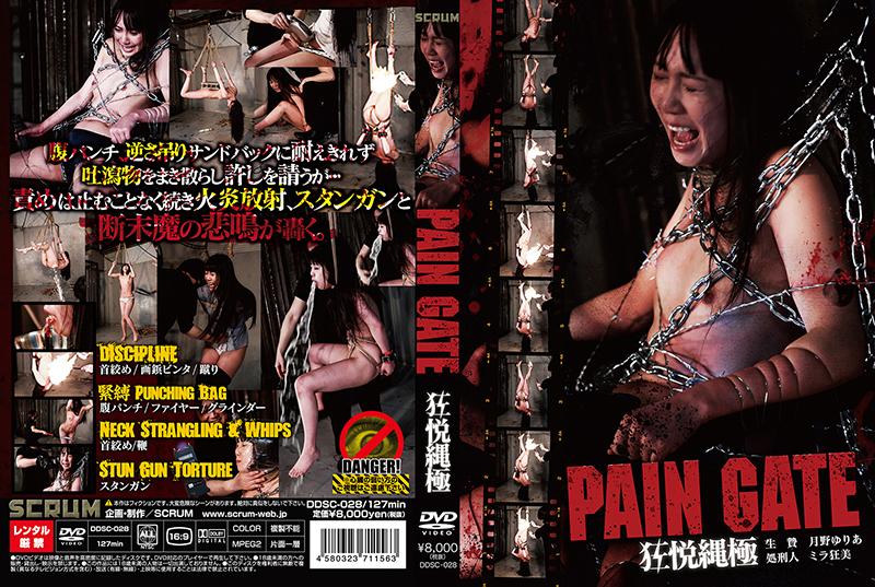 [DDSC-028] PAIN GATE 狂悦縄極 月野ゆりあ 調教 スクラム Torture Shaved