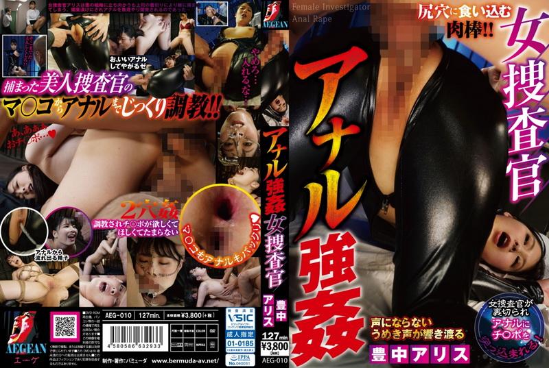 [AEG-010] 女捜査官 アナル強姦 Toyonaka Arisu Prestige