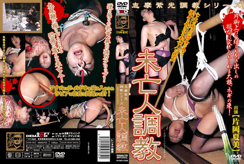 [SVND-032] 志摩紫光調教シリーズ Kataoka Natsumi 未亡人調教 Training