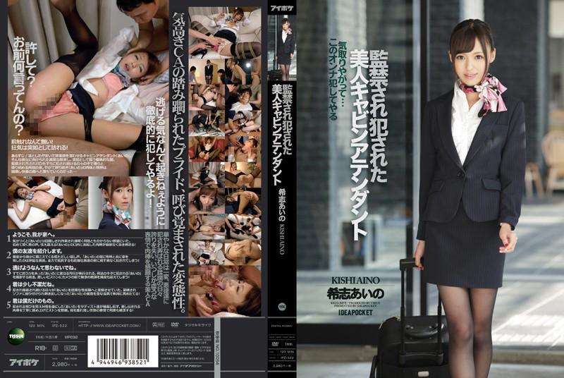 [IPZ-522] 監禁され犯された美人キャビンアテンダント レンタル版 Kishi AinoIDEA POCKET